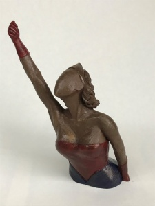Wonder Woman Argile Vintage mae keeng